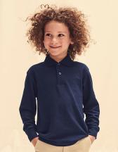 Long Sleeve 65/35 Polo Kids